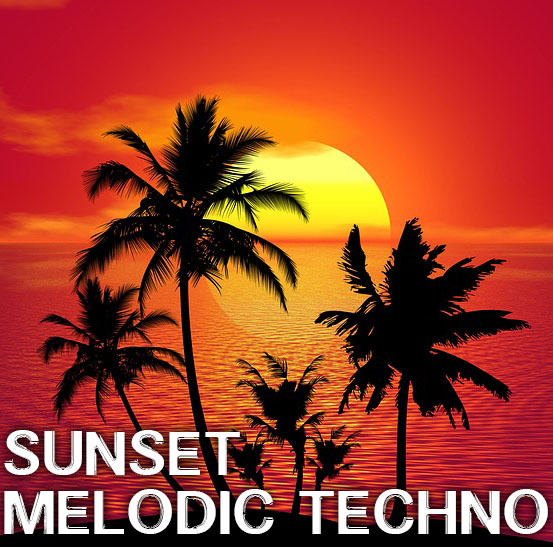 Spotify Playlist Sunset Melodic Techno